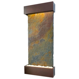 Nojoqui Falls Classic Quarry Rajah Slate Wall Fountain
