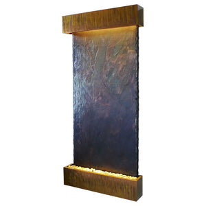Nojoqui Grande Lightweight Slate Wall Fountain