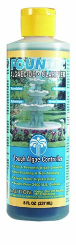 8 oz. Fountec Algaecide and Clarifier Water Treatment