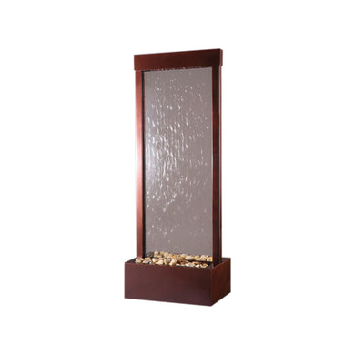 Gardenfall Fountain - Dark Copper with Clear Glass