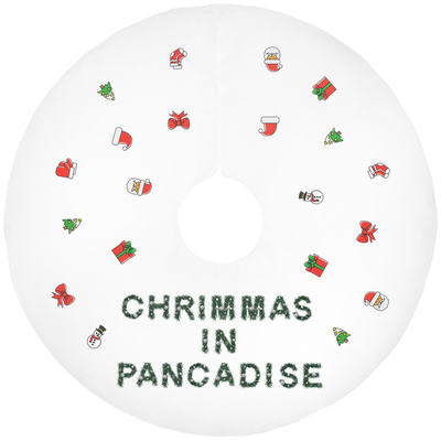 Pancadise Christmas Tree Skirts