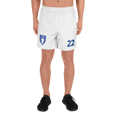 Italia Lacrosse Men's Athletic Long Shorts