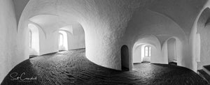 Round Tower Panoramic Print