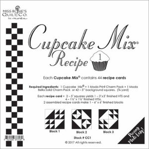 Cupcake Mix Recipe 1 pattern