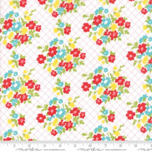 """Mama's Cottage"" Guava Citrus yardage"