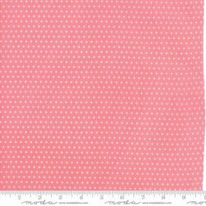 """Mama's Cottage"" Floral Sparkle Pink Yardage"