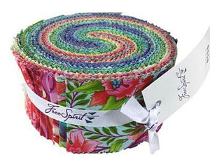 "Tula Pink .. Pinkerville Jelly Roll (4O) 2.5"" Pre-cut Strips"