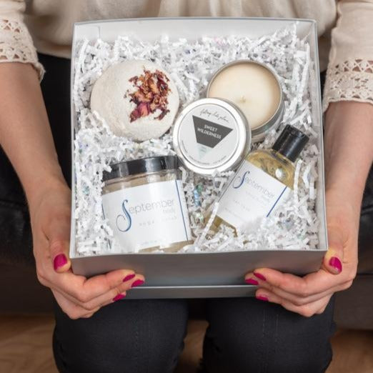 Specialty Spa Gift Basket - September Nail Salon