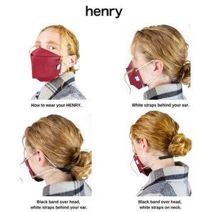 Henry Pleated Face Masks - September Nail Salon