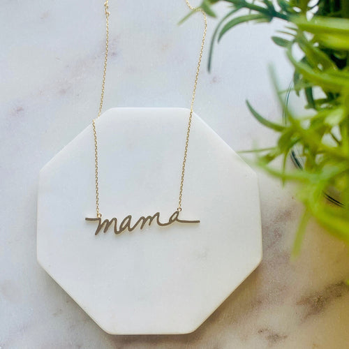 Mama Necklace - September Nail Salon