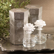White Hibiscus Porcelain Flower Diffuser
