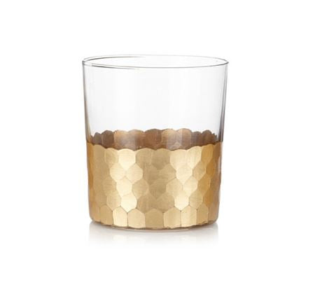 Gold Glass-Tumbler