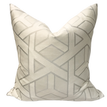 Silver Asterisk Pillow