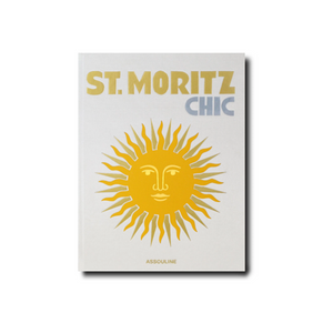 St. Moritz Chic Coffee Table Book