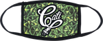 CALI PLUG GREEN PATTERN MASK