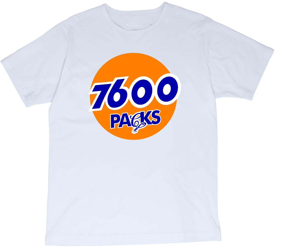 CALI PLUG '7600 PACKS' T-SHIRT
