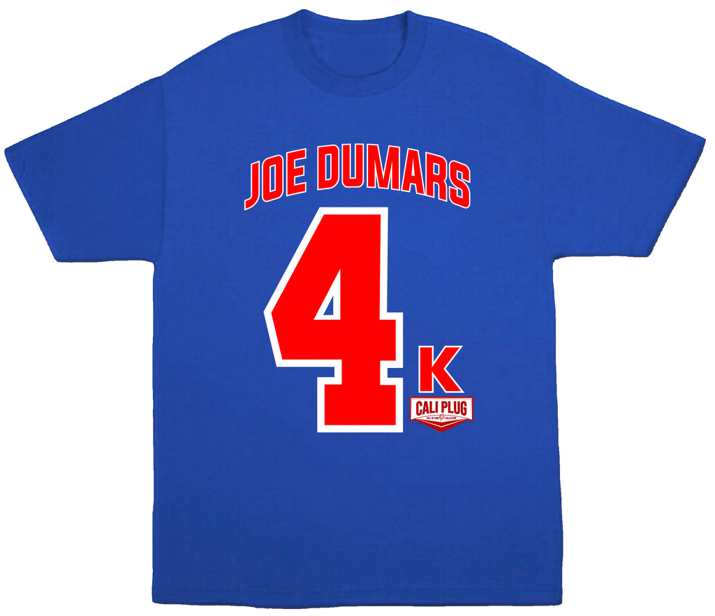 JOE DUMARS 4K T-SHIRT
