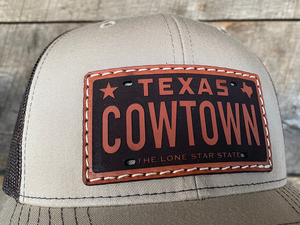 """Cowtown License Plate"" - WR Original Men's Line"
