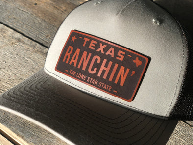 "Texas ""RANCHIN"" Hat- WR Original Line"