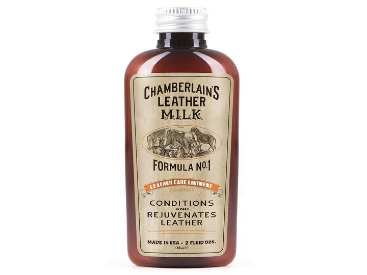 Leather Milk Leather Care Conditioner No. 1 - 2 oz Bottle