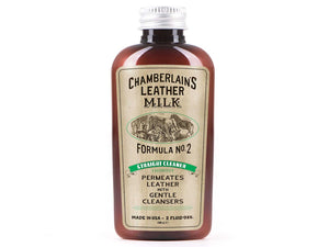 Leather Milk Leather Care Straight Cleaner No. 2 - 2 oz Bottle