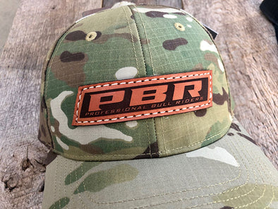 PBR - Rectangular Leather Patch Hat