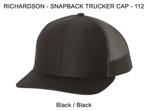 Richardson 112 Black/Black