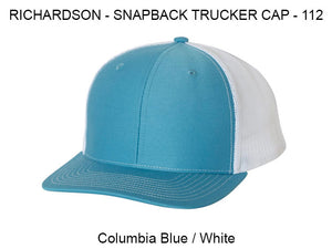 Richardson 112 Columbia Blue / White