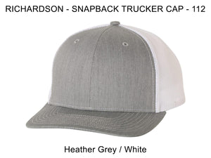 Richardson 112 Heather Grey/White