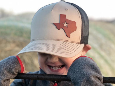 Lone Star State- Full Grain Leather Hat