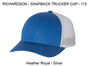 Richardson 112 Heather Royal/Silver