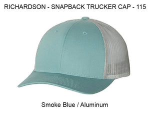 Richardson 112 Smoke Blue/Aluminum
