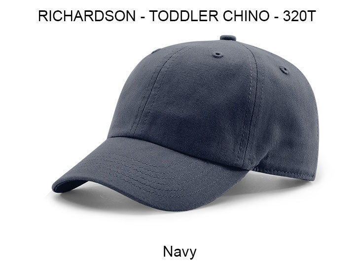 Toddler Custom Leather Patch Hats