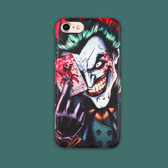 Unique! Joker Image Back Cover Cell Phone Case / Cover for iPhone 7 6s Plus - casinomegastore