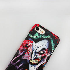 Unique! Joker Image Back Cover Cell Phone Case / Cover for iPhone 7 6s Plus