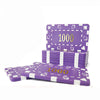 Image of Big Boys! 10 PCS/LOT  Casino Chips 12 Colors 32g ABS/Iron Square Block Tile Many Colors - casinomegastore