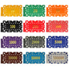 Image of Big Boys! 10 PCS/LOT  Casino Chips 12 Colors 32g ABS/Iron Square Block Tile Many Colors