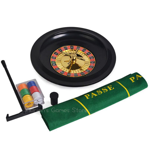 PARTY! Roulette Set With 60pcs Poker Chips Roulette Table Cloth Rulet Roleta - casinomegastore