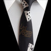 Image of Unique Design Ties with Poker Patterns Necktie for Casino Gamblers Las Vegas - casinomegastore