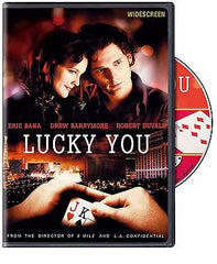 LUCKY YOU Movie DVD NEW Sealed, Eric Bana, Drew Barrymore, Robert Duvall - casinomegastore