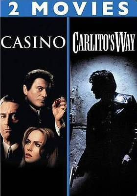 DOUBLE DEAL! 2 DvD's for 1: CASINO/CARLITO'S WAY NEW DVD - casinomegastore