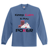 Image of Keep Calm and Play Poker Full Sleeved Jersey - casinomegastore