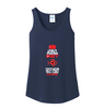 Image of For WOMEN POKER PLAYERS, Dual Special: The Perfect Women Tank, Ladies V-Neck - casinomegastore