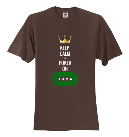 BEST BUY! Keep Calm & Poker On! Unisex T-Shirt - casinomegastore