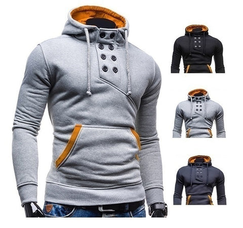 Stylish! Autumn and Winter Men's Hoodie Pullover - casinomegastore
