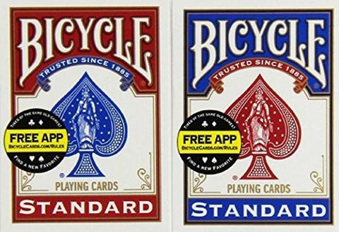 2017 New Bicycle Standard Index Playing Cards Steal DEAL! - casinomegastore