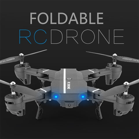 2017 NEW Drone Wifi FPV Quadcopter G-sensor Altitude Hold Foldable RC Drone with HD Camera Video - casinomegastore