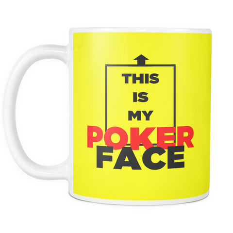 GREAT Quality! Poker Caption Mug, Perfect Gift for Your Poker Friends! - casinomegastore