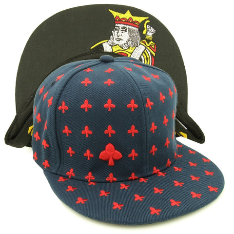 GANGSTER! Playing Cards Hip-hop Snapback Cap Baccarat BlackJack and Poker - casinomegastore