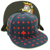 Image of GANGSTER! Playing Cards Hip-hop Snapback Cap Baccarat BlackJack and Poker - casinomegastore